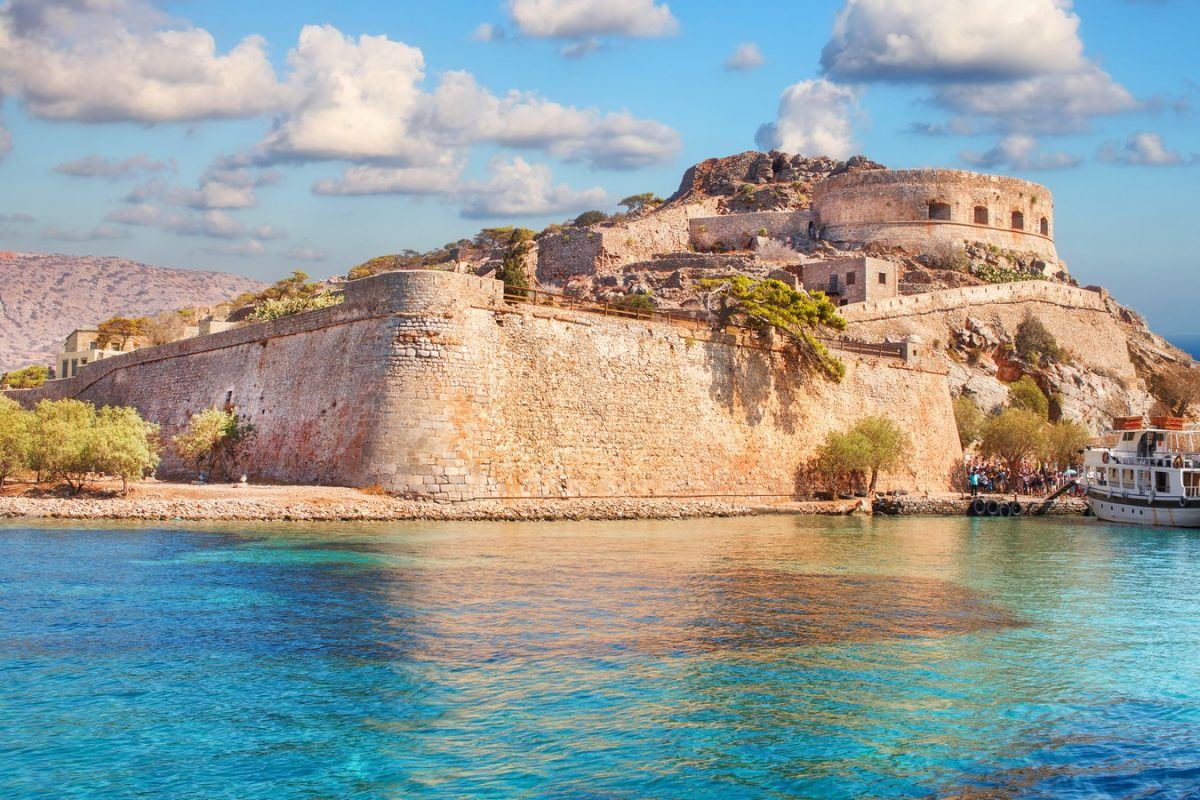 Spinalonga island tours crete